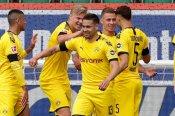 Wolfsburg 0-2 Borussia Dortmund: Guerreiro, Hakimi secure scrappy win before Der Klassiker