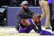 LeBron says 'job is not done' after reaching NBA Finals as Lakers star recalls Kobe legacy