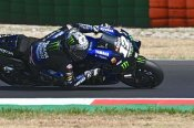 Bagnaia hands second successive Misano pole to Vinales with costly late error