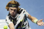 Rublev set for career-high ranking after downing Coric in St Petersburg