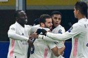Inter 0-2 Real Madrid: Hazard and Rodrygo leave 10-man Nerazzurri on brink of exit