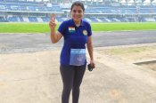 Very excited to complete the TCS World 10K: Chitra Magimairaj, two-time World Billiards and Snooker Champion