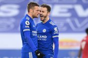 Premier League: Leicester City 2-2 Manchester United: Vardy ends Red Devils' away winning streak