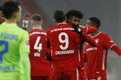 Bayern Munich 2-1 Wolfsburg: Lewandowski nets decisive brace and passes 250 Bundesliga goals