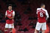 Arsenal 0-1 Burnley: Xhaka sent off as Aubameyang own goal piles pressure on Arteta