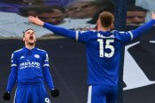 Tottenham 0-2 Leicester City: Spurs' title hopes suffer further blow with damaging defeat