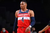 Wizards' Westbrook to miss at least a week due to quad injury