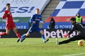 Premier League: Leicester City 3-1 Liverpool: Foxes profit as stumbling champions suffer collapse