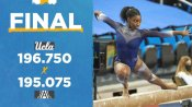 US gymnast Nia Dennis leaves Michelle Obama mesmerised!