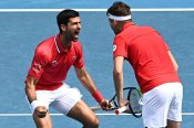 Perfect Djokovic helps Serbia win ATP Cup opener, Spain triumph without Nadal