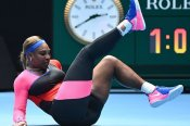 Australian Open: Serena battles through ankle and business worries in Melbourne