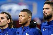 Deschamps lauds Mbappe, Griezmann and Giroud understanding