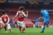 Arsenal 0-1 Olympiacos (3-2 agg): Beaten Gunners scrape into Europa League quarters