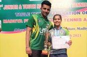 Maharashtra paddler Diya clinches second successive Youth Nationals title