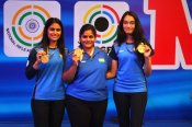 ISSF World Cup 2021: Sports pistol women strike gold again in 25m team event