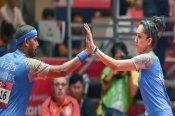 Table Tennis: Sharath Kamal, Manika Batra win Asian qualifiers, book Tokyo berth