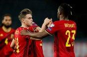Belgium 8-0 Belarus: Trossard and Vanaken score twice as Martinez's men run riot