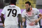 Fiorentina 2-3 Milan: Calhanoglu keeps Rossoneri in title hunt