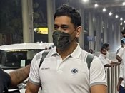 IPL 2021: Chennai Super Kings captain MS Dhoni, batsman Ambati Rayudu arrive in Chennai for practice session