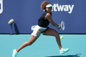 Osaka extends winning streak to 22 matches, Brady knocked out of Miami Open