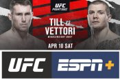Top middleweight contenders headline UFC event on ABC and ESPN+