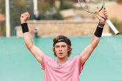 'Amazing feeling' for Rublev as he sets up Tsitsipas final in Monte Carlo