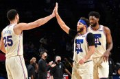 76ers take top spot in east with Nets win, Doncic beats buzzer for Mavericks