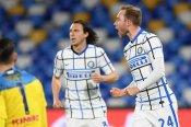 Napoli 1-1 Inter: Eriksen on target for Serie A leaders after Handanovic own goal