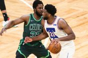 Embiid in 30-year first for 76ers and Curry's 41 points lifts Warriors as Zion matches Shaq