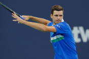 Hurkacz overcomes in-form Rublev to secure berth in Miami Open final against Sinner
