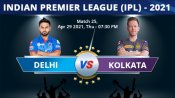 IPL 2021: DC vs KKR Match 25 Toss and Playing 11 report: Delhi opt to bowl, Lalit replaces Mishra