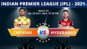 IPL 2021: CSK vs SRH, Match 23 Toss, Playing XI: Sunrisers Hyderabad win toss and elect to bat