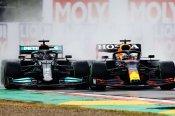 Verstappen victorious at red-flagged Emilia Romagna Grand Prix epic in Imola rain