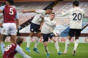 Aston Villa 1-2 Manchester City: Foden and Rodri edge Guardiola's side closer to Premier League title