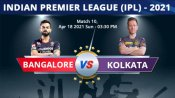 IPL 2021, RCB vs KKR Match 10 Highlights: Maxwell, AB de Villiers drive Royal Challengers to big win