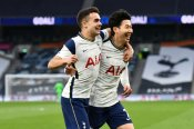 Tottenham 2-1 Southampton: Late Son penalty boosts Kane-less Spurs' top-four hopes in Mason bow