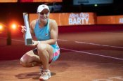 Barty battles back again to lift Stuttgart Open title