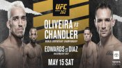 Oliveira and Chandler to battle for vacant lightweight title at UFC 262
