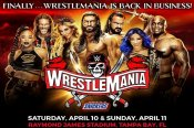 WWE Wrestlemania 37: Broadcast details, Match Card with Predictions