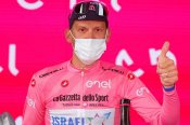 Giro d'Italia: De Marchi moves into pink jersey after Dombrowski takes stage four