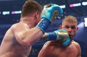 Canelo felt he inflicted broken cheek on Saunders in brutal unification triumph