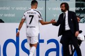 Ronaldo was happy to be substituted, insists Juve boss Pirlo