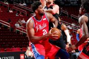 Embiid stars as 76ers stay hot and Westbrook closes in on record as Jazz reclaim lead