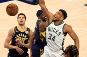 NBA Wrap: Giannis dominates in Bucks win over Pacers, 76ers miss top spot chance again