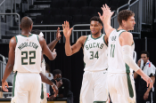 NBA Wrap: Giannis leads Bucks into playoffs with Nets win, Curry breaks more records