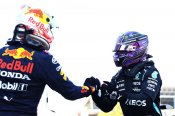 Hamilton invigorated by Verstappen challenge as he looks to capitalise on 100th pole