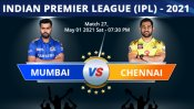 IPL 2021: MI vs CSK, Match 27 Toss, Playing XI: IPL 2021: Mumbai Indians win toss & opt to bowl first
