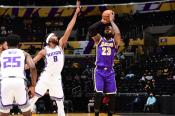 LeBron returns for Lakers, Tatum ties Bird's record in Celtics fightback