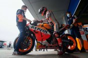 Marquez limited to seven laps at Jerez test after Spanish GP crash