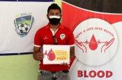Nirmal Chhetri organises blood donation camp to aid hometown's battle against COVID-19